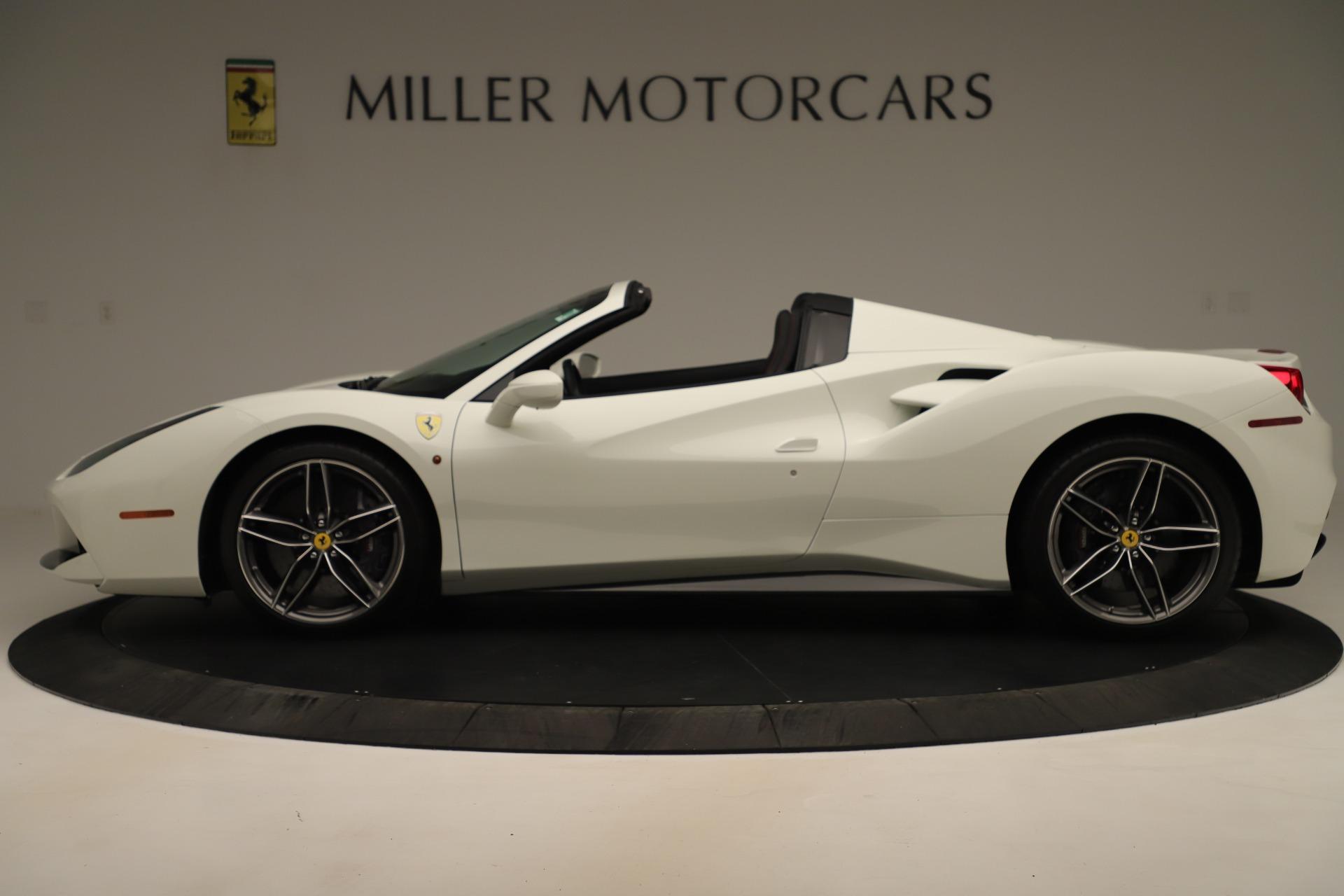 Used 2016 Ferrari 488 Spider  For Sale 281900 In Greenwich, CT