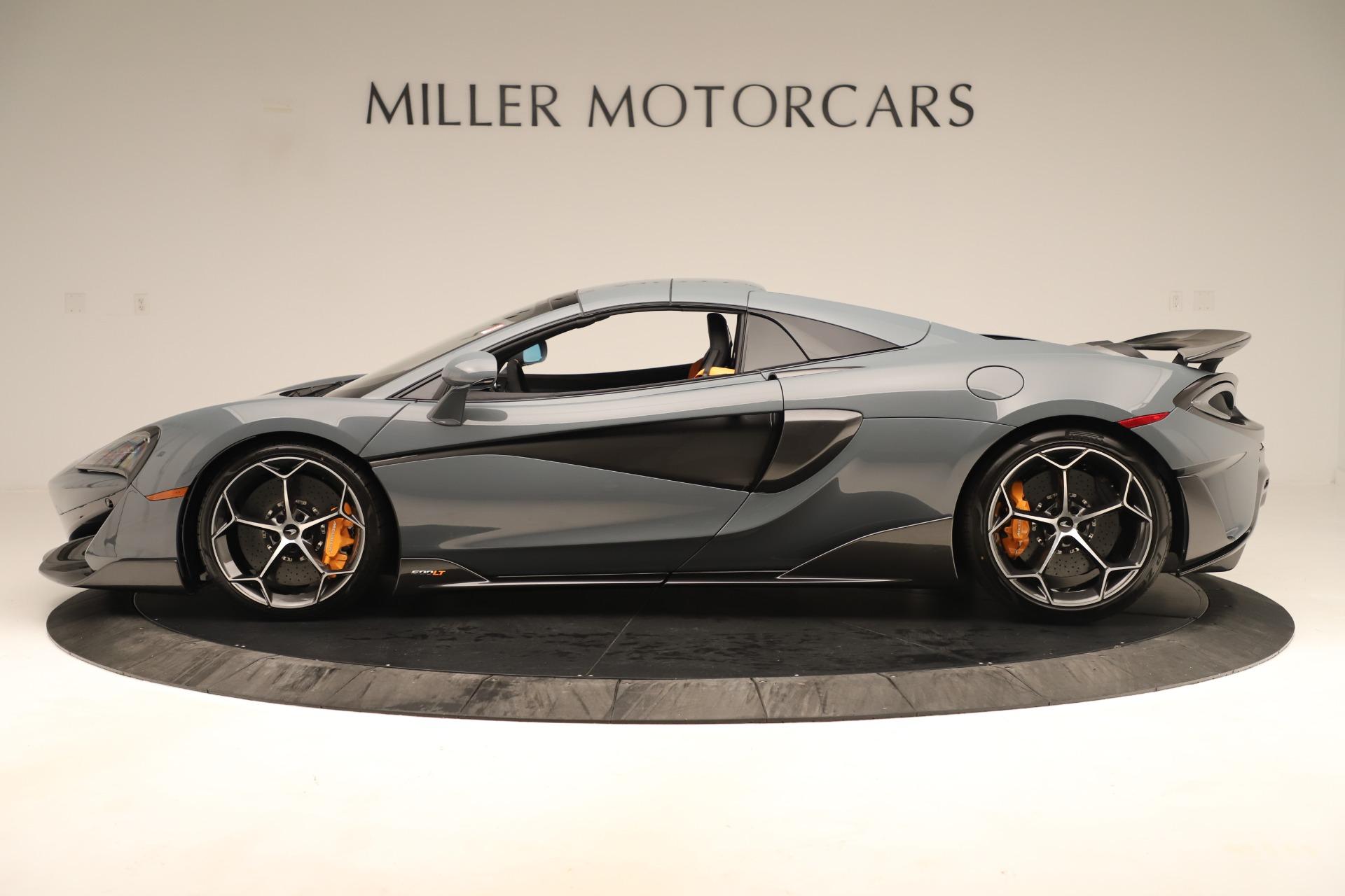 New 2020 McLaren 600LT Convertible For Sale 289060 In Greenwich, CT