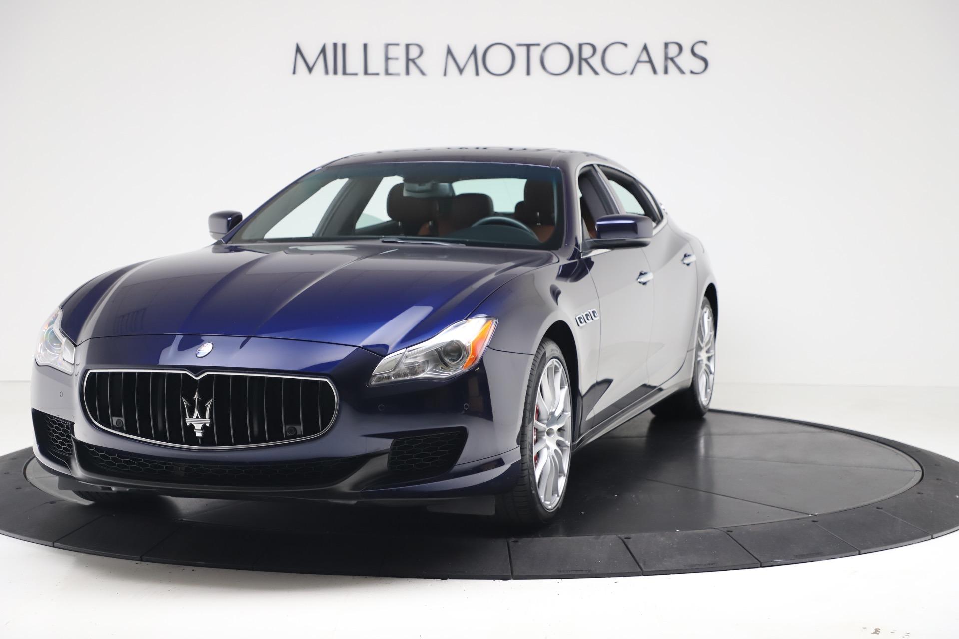 Maserati Q4 Price >> 2016 Maserati Quattroporte S Q4 Stock 7653 For Sale Near