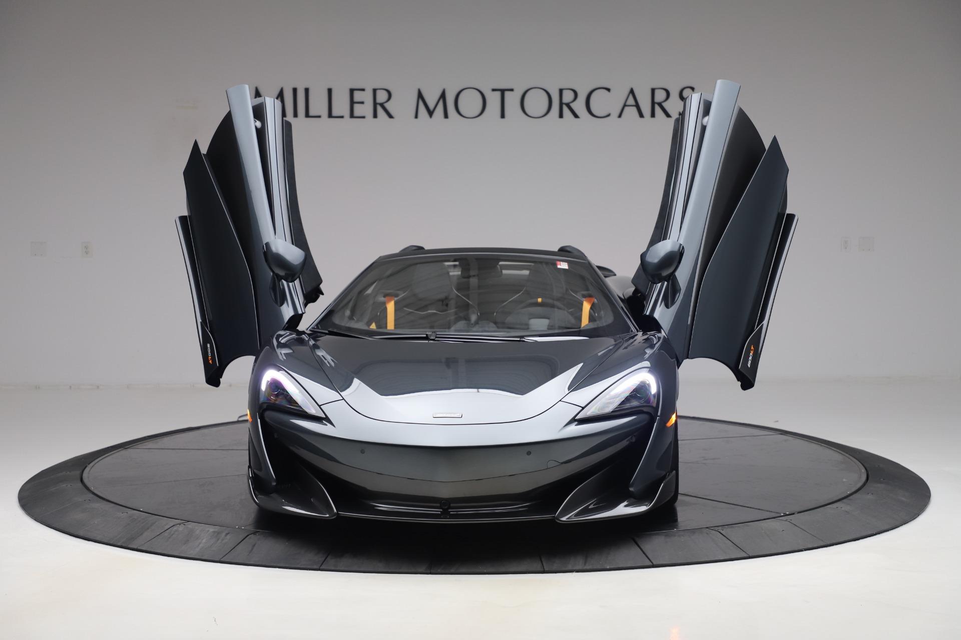 New 2020 McLaren 600LT Spider  For Sale 309620 In Greenwich, CT