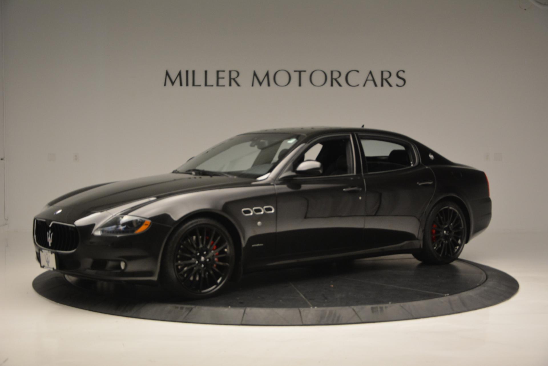 Used 2011 Maserati Quattroporte Sport GT S For Sale 0 In Greenwich, CT