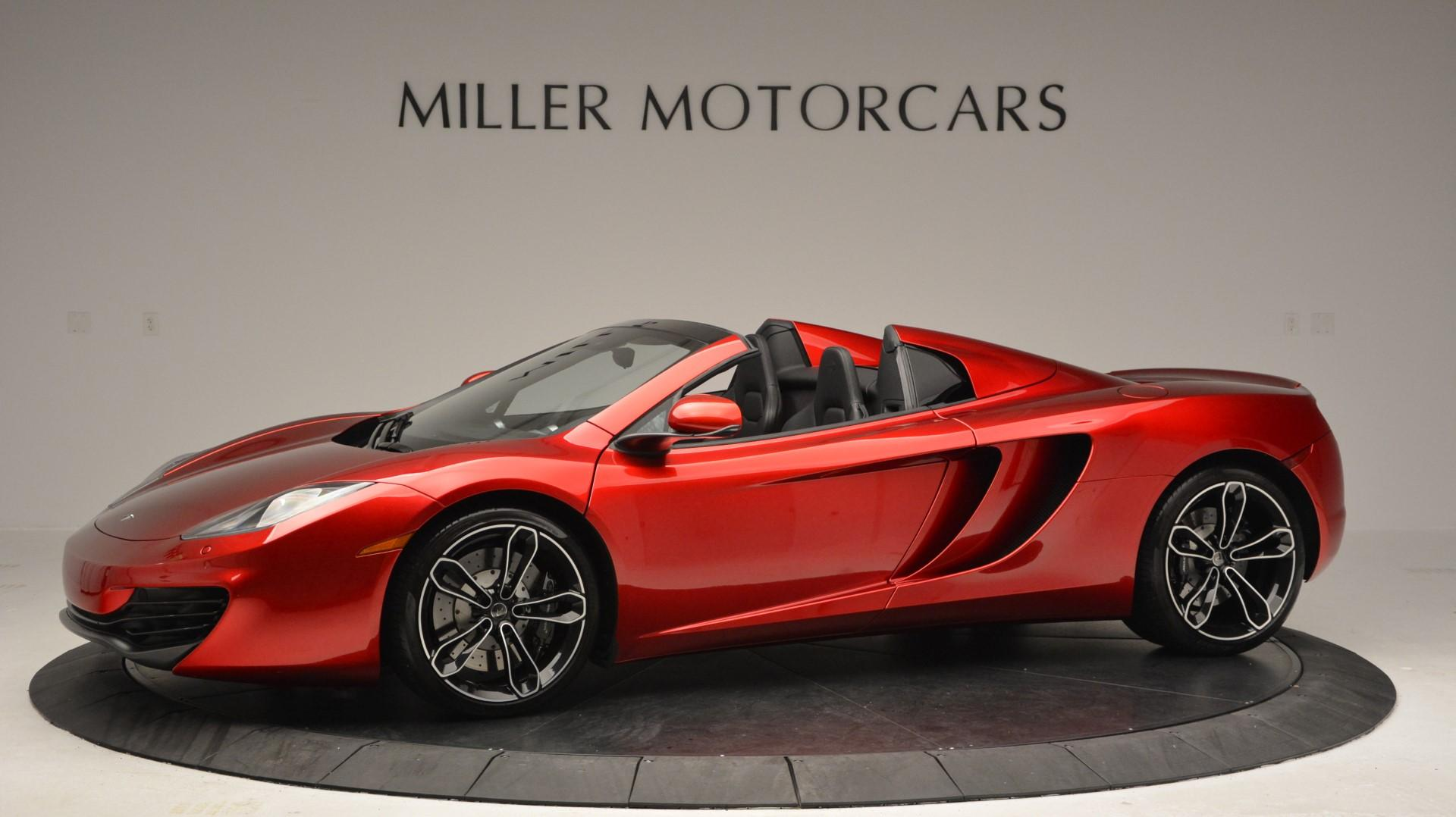 Used 2013 McLaren 12C Spider  For Sale 0 In Greenwich, CT