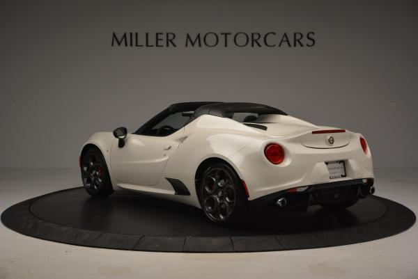 New 2015 Alfa Romeo 4C Spider for sale Sold at Aston Martin of Greenwich in Greenwich CT 06830 5