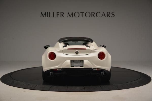 New 2015 Alfa Romeo 4C Spider for sale Sold at Aston Martin of Greenwich in Greenwich CT 06830 6