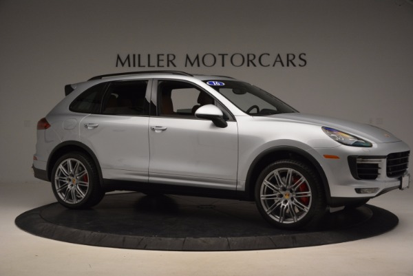 Used 2016 Porsche Cayenne Turbo for sale Sold at Aston Martin of Greenwich in Greenwich CT 06830 10