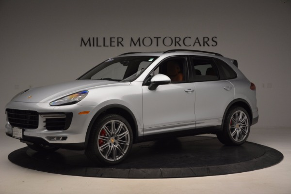 Used 2016 Porsche Cayenne Turbo for sale Sold at Aston Martin of Greenwich in Greenwich CT 06830 2