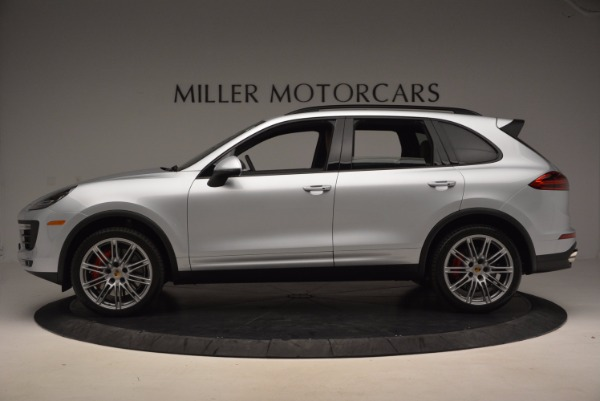 Used 2016 Porsche Cayenne Turbo for sale Sold at Aston Martin of Greenwich in Greenwich CT 06830 3