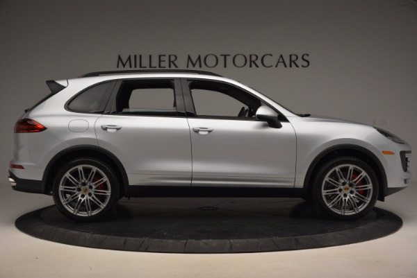 Used 2016 Porsche Cayenne Turbo for sale Sold at Aston Martin of Greenwich in Greenwich CT 06830 9