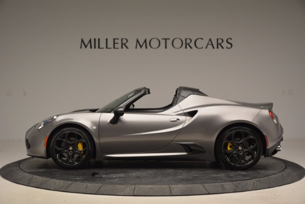 New 2016 Alfa Romeo 4C Spider for sale Sold at Aston Martin of Greenwich in Greenwich CT 06830 3