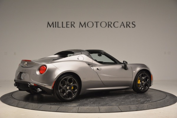 New 2016 Alfa Romeo 4C Spider for sale Sold at Aston Martin of Greenwich in Greenwich CT 06830 8
