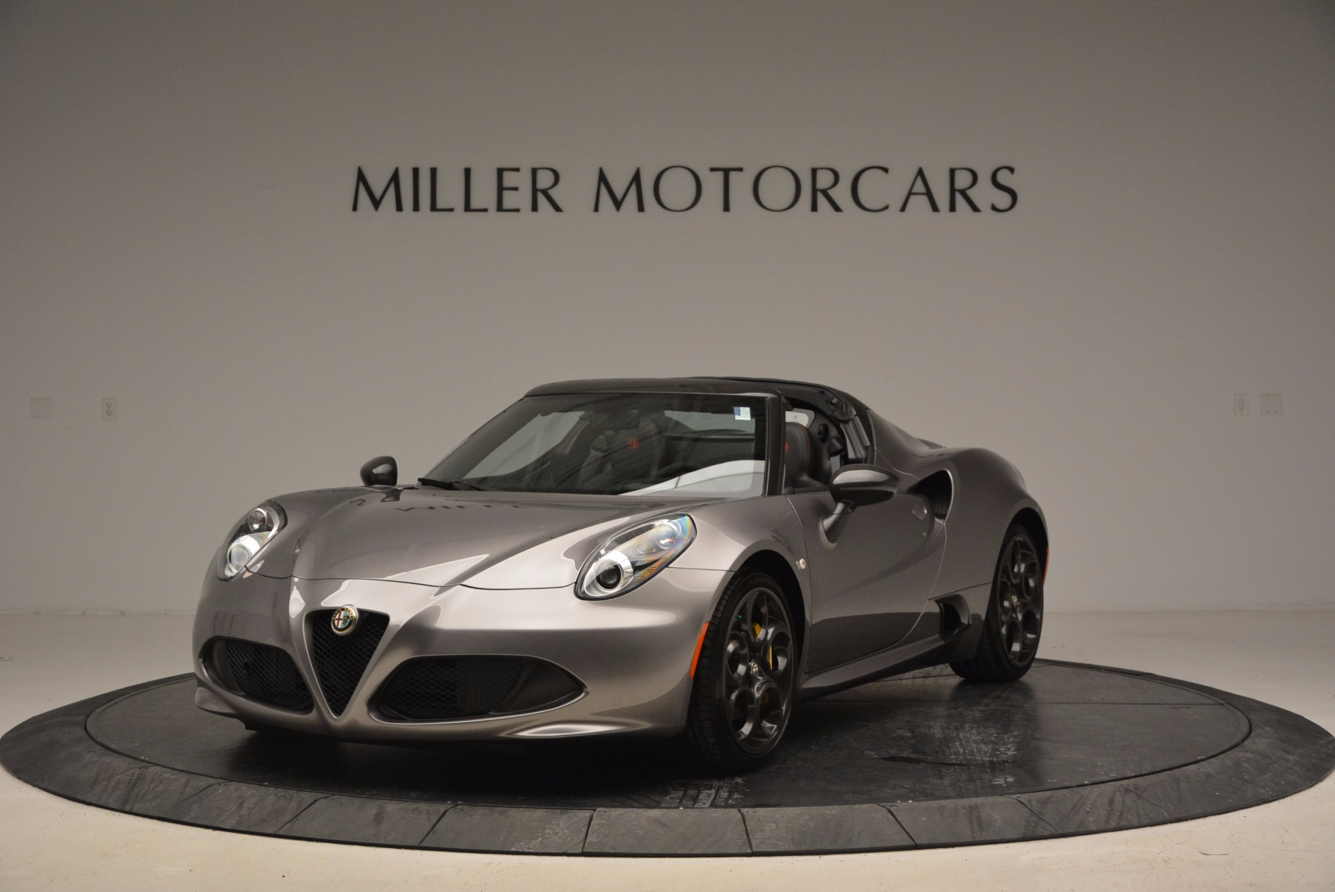 New 2016 Alfa Romeo 4C Spider for sale Sold at Aston Martin of Greenwich in Greenwich CT 06830 1