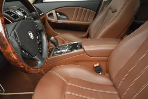Used 2013 Maserati Quattroporte S for sale Sold at Aston Martin of Greenwich in Greenwich CT 06830 14