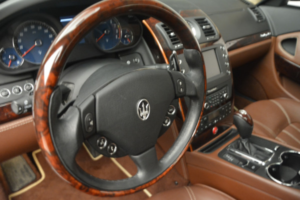 Used 2013 Maserati Quattroporte S for sale Sold at Aston Martin of Greenwich in Greenwich CT 06830 16