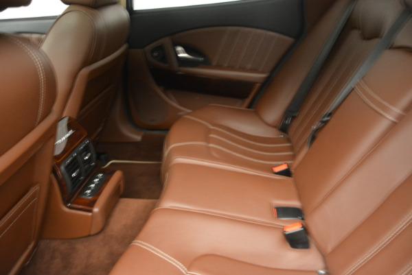Used 2013 Maserati Quattroporte S for sale Sold at Aston Martin of Greenwich in Greenwich CT 06830 18