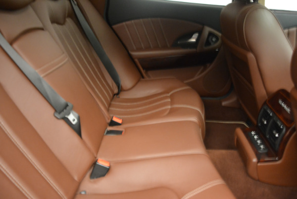 Used 2013 Maserati Quattroporte S for sale Sold at Aston Martin of Greenwich in Greenwich CT 06830 24