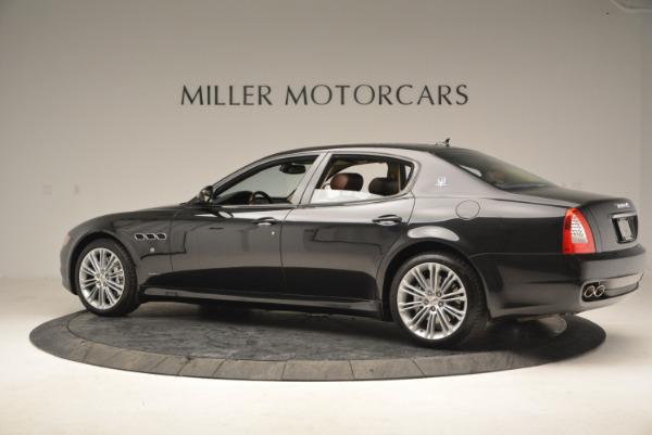 Used 2013 Maserati Quattroporte S for sale Sold at Aston Martin of Greenwich in Greenwich CT 06830 4