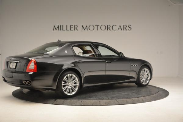 Used 2013 Maserati Quattroporte S for sale Sold at Aston Martin of Greenwich in Greenwich CT 06830 8