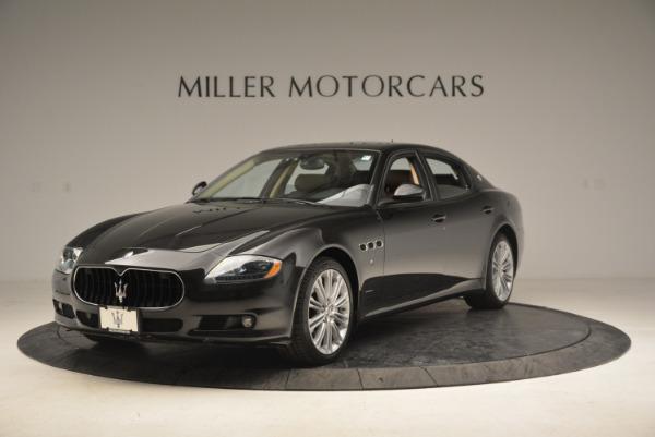 Used 2013 Maserati Quattroporte S for sale Sold at Aston Martin of Greenwich in Greenwich CT 06830 1