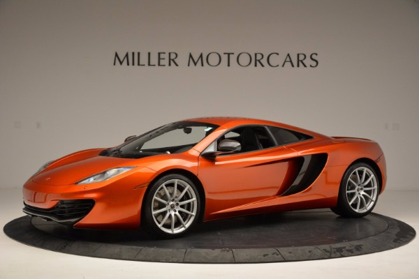 Used 2012 McLaren MP4-12C for sale Sold at Aston Martin of Greenwich in Greenwich CT 06830 2