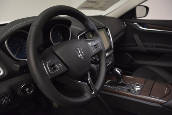 New 2017 Maserati Ghibli SQ4 for sale Sold at Aston Martin of Greenwich in Greenwich CT 06830 16
