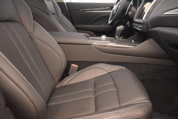 Used 2017 Maserati Levante for sale Sold at Aston Martin of Greenwich in Greenwich CT 06830 22