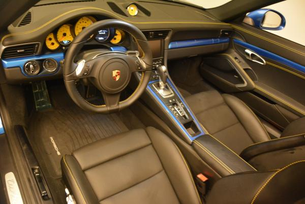 Used 2014 Porsche 911 Turbo S for sale Sold at Aston Martin of Greenwich in Greenwich CT 06830 18