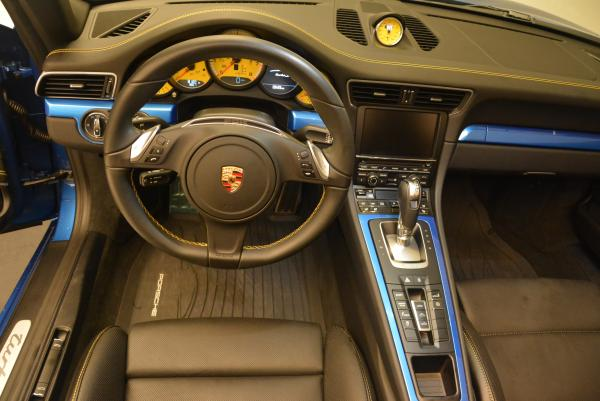 Used 2014 Porsche 911 Turbo S for sale Sold at Aston Martin of Greenwich in Greenwich CT 06830 19