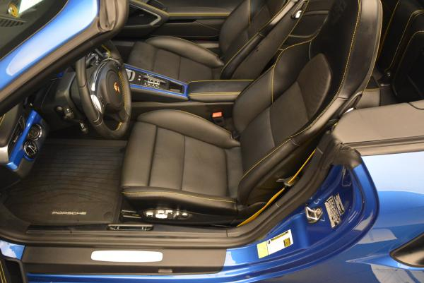 Used 2014 Porsche 911 Turbo S for sale Sold at Aston Martin of Greenwich in Greenwich CT 06830 20