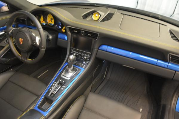 Used 2014 Porsche 911 Turbo S for sale Sold at Aston Martin of Greenwich in Greenwich CT 06830 24