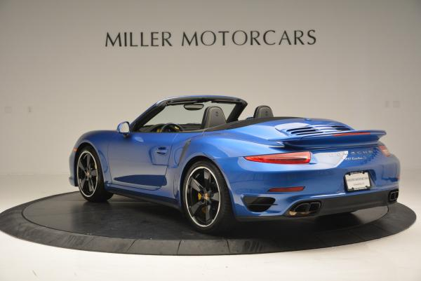 Used 2014 Porsche 911 Turbo S for sale Sold at Aston Martin of Greenwich in Greenwich CT 06830 5