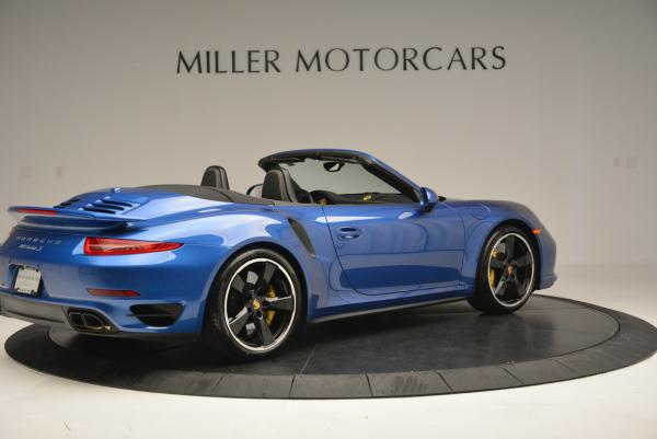 Used 2014 Porsche 911 Turbo S for sale Sold at Aston Martin of Greenwich in Greenwich CT 06830 8