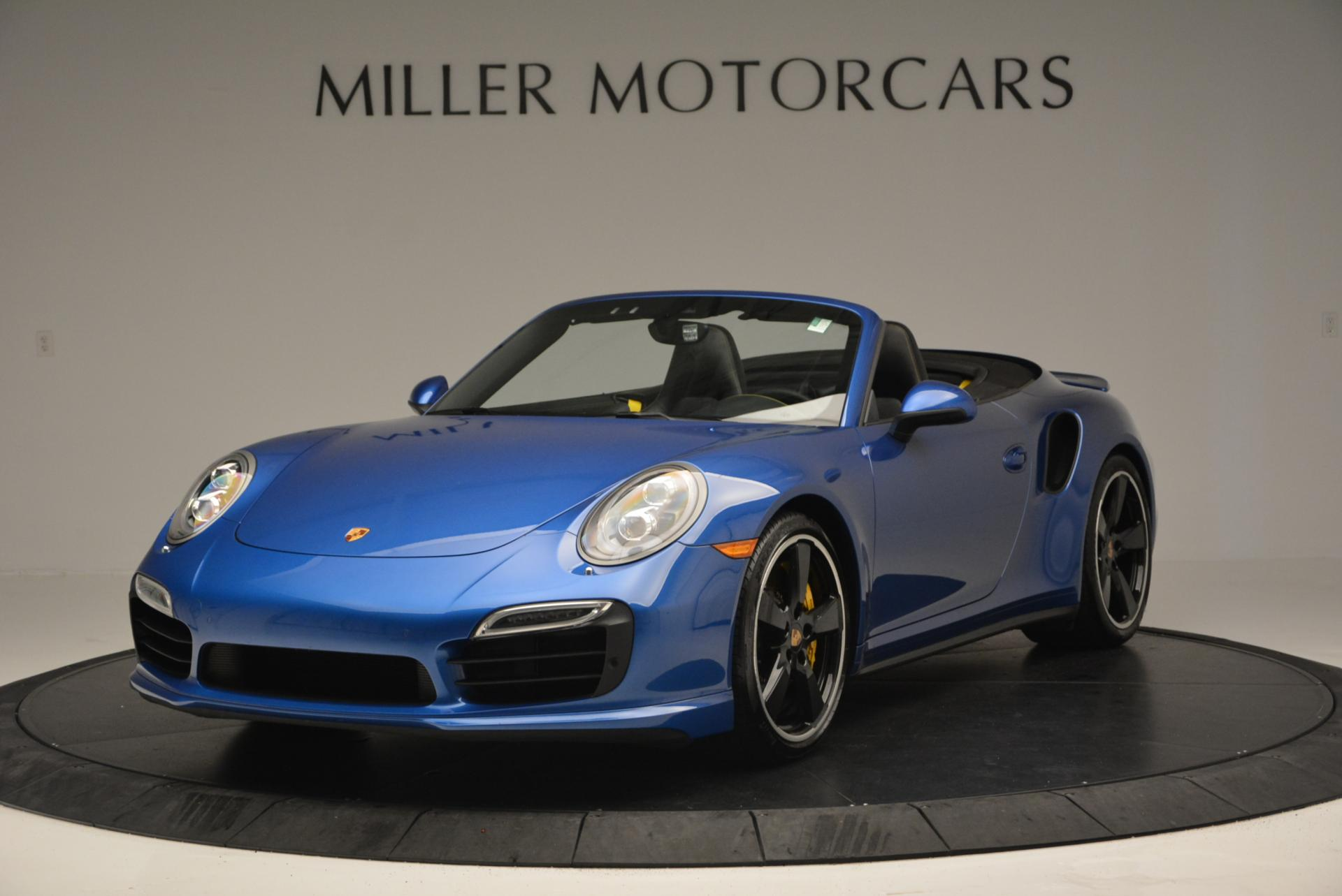 Used 2014 Porsche 911 Turbo S for sale Sold at Aston Martin of Greenwich in Greenwich CT 06830 1