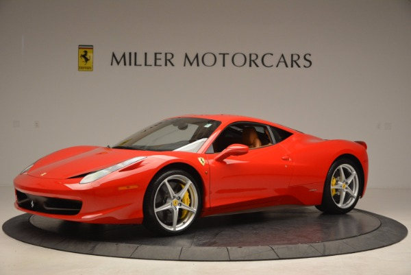 Used 2011 Ferrari 458 Italia for sale Sold at Aston Martin of Greenwich in Greenwich CT 06830 2