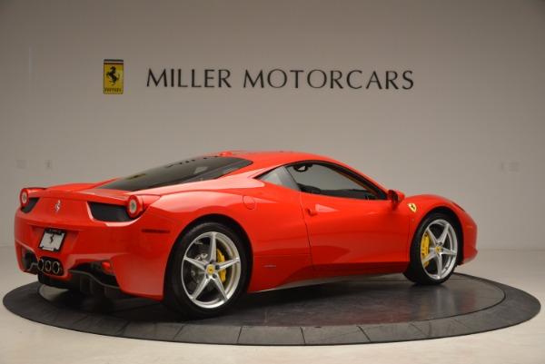 Used 2011 Ferrari 458 Italia for sale Sold at Aston Martin of Greenwich in Greenwich CT 06830 8