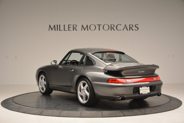 Used 1996 Porsche 911 Turbo for sale Sold at Aston Martin of Greenwich in Greenwich CT 06830 5