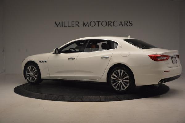 Used 2017 Maserati Quattroporte SQ4 for sale $53,900 at Aston Martin of Greenwich in Greenwich CT 06830 4