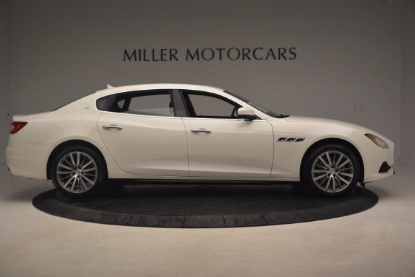 Used 2017 Maserati Quattroporte SQ4 for sale $53,900 at Aston Martin of Greenwich in Greenwich CT 06830 9