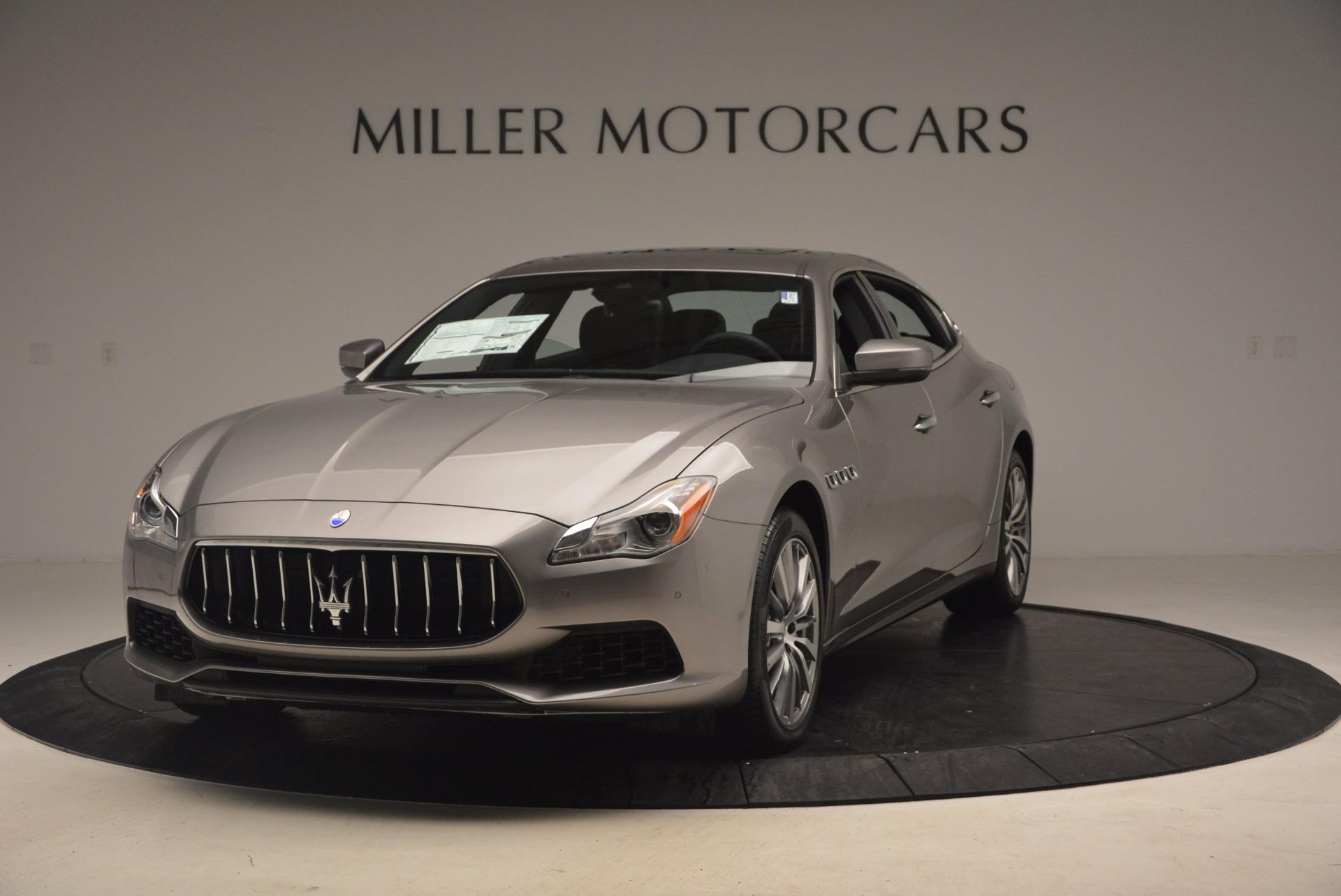 New 2017 Maserati Quattroporte SQ4 for sale Sold at Aston Martin of Greenwich in Greenwich CT 06830 1