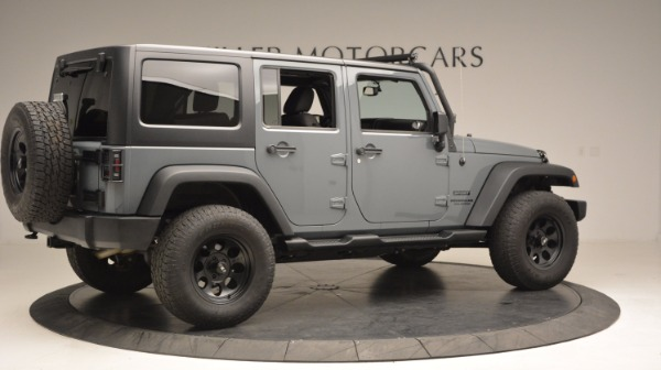 Used 2014 Jeep Wrangler Unlimited Sport for sale Sold at Aston Martin of Greenwich in Greenwich CT 06830 10
