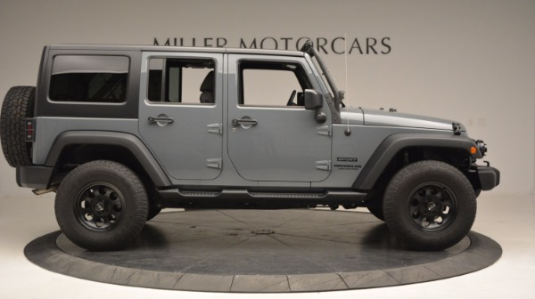 Used 2014 Jeep Wrangler Unlimited Sport for sale Sold at Aston Martin of Greenwich in Greenwich CT 06830 11