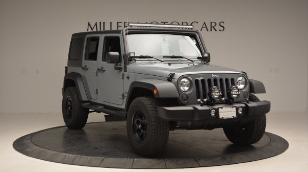 Used 2014 Jeep Wrangler Unlimited Sport for sale Sold at Aston Martin of Greenwich in Greenwich CT 06830 13