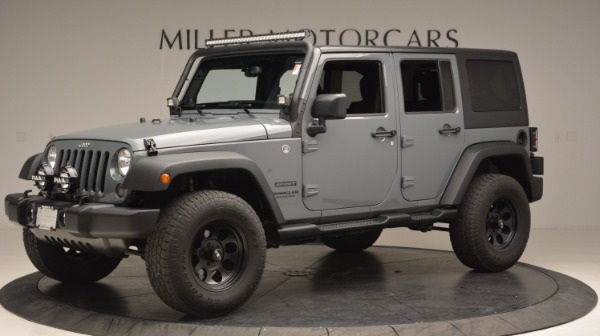Used 2014 Jeep Wrangler Unlimited Sport for sale Sold at Aston Martin of Greenwich in Greenwich CT 06830 2