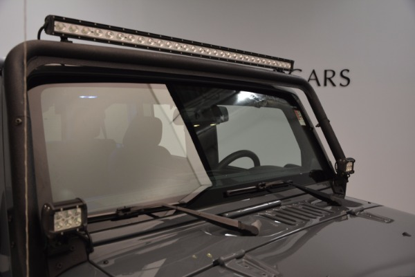 Used 2014 Jeep Wrangler Unlimited Sport for sale Sold at Aston Martin of Greenwich in Greenwich CT 06830 27