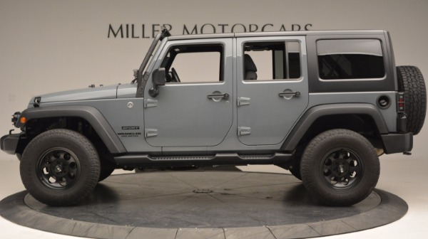 Used 2014 Jeep Wrangler Unlimited Sport for sale Sold at Aston Martin of Greenwich in Greenwich CT 06830 3