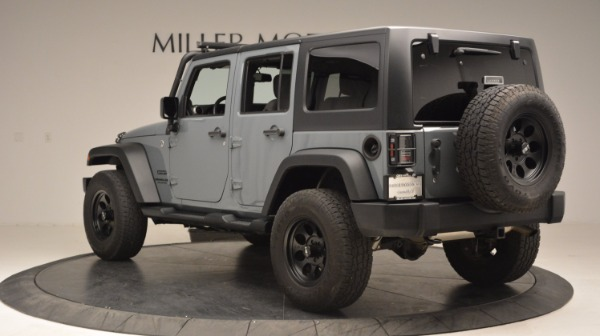 Used 2014 Jeep Wrangler Unlimited Sport for sale Sold at Aston Martin of Greenwich in Greenwich CT 06830 5