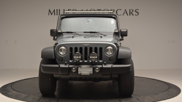 Used 2014 Jeep Wrangler Unlimited Sport for sale Sold at Aston Martin of Greenwich in Greenwich CT 06830 6