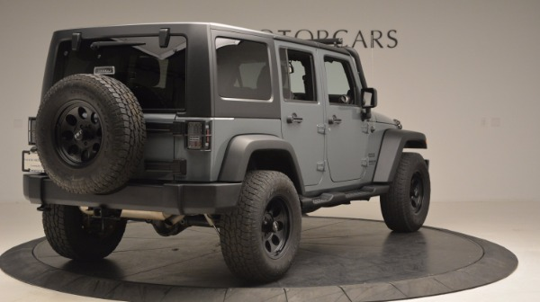 Used 2014 Jeep Wrangler Unlimited Sport for sale Sold at Aston Martin of Greenwich in Greenwich CT 06830 8