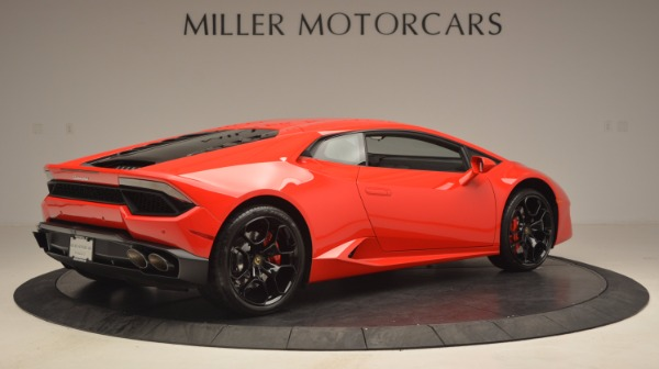 Used 2016 Lamborghini Huracan LP 580-2 for sale Sold at Aston Martin of Greenwich in Greenwich CT 06830 8