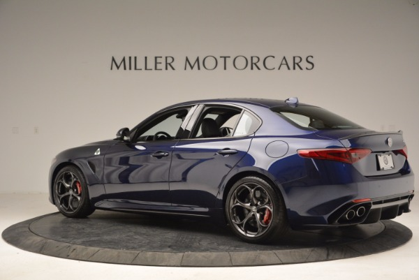 New 2017 Alfa Romeo Giulia Quadrifoglio for sale Sold at Aston Martin of Greenwich in Greenwich CT 06830 4