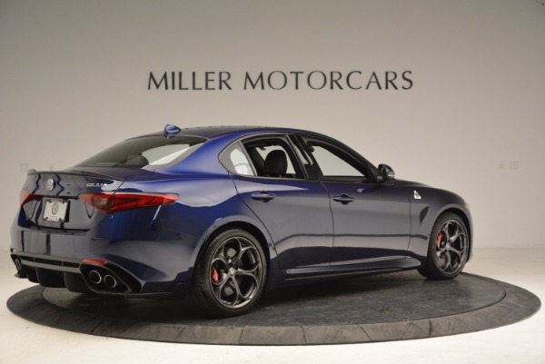 New 2017 Alfa Romeo Giulia Quadrifoglio for sale Sold at Aston Martin of Greenwich in Greenwich CT 06830 8